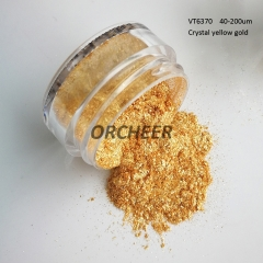 Crystal gold pearl pigment