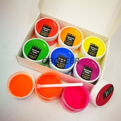 6 colors fluorescent pigment powder
